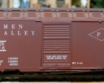 Perkiomen Valley Box Car